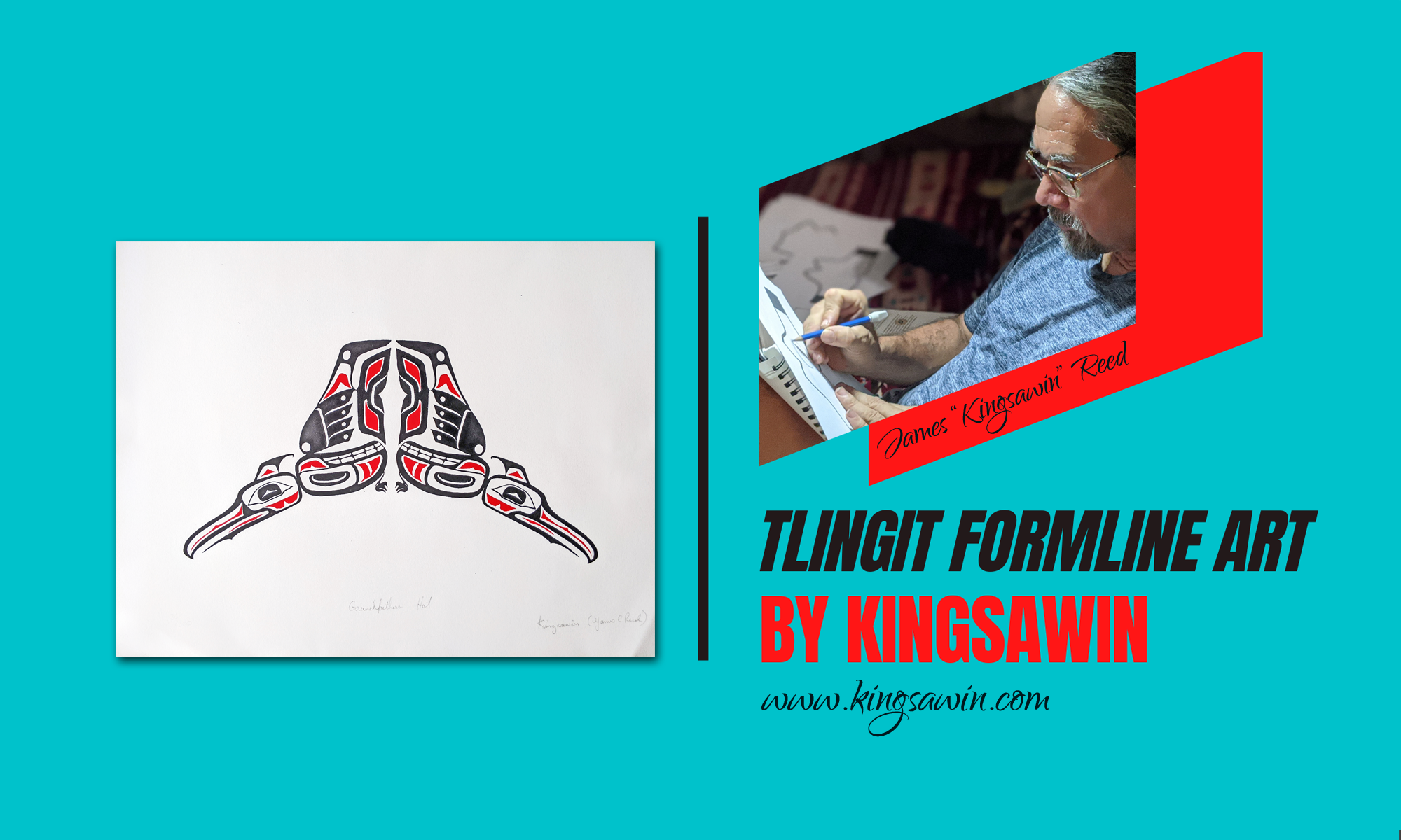 Tlingit Artist James Kingsawin Reed