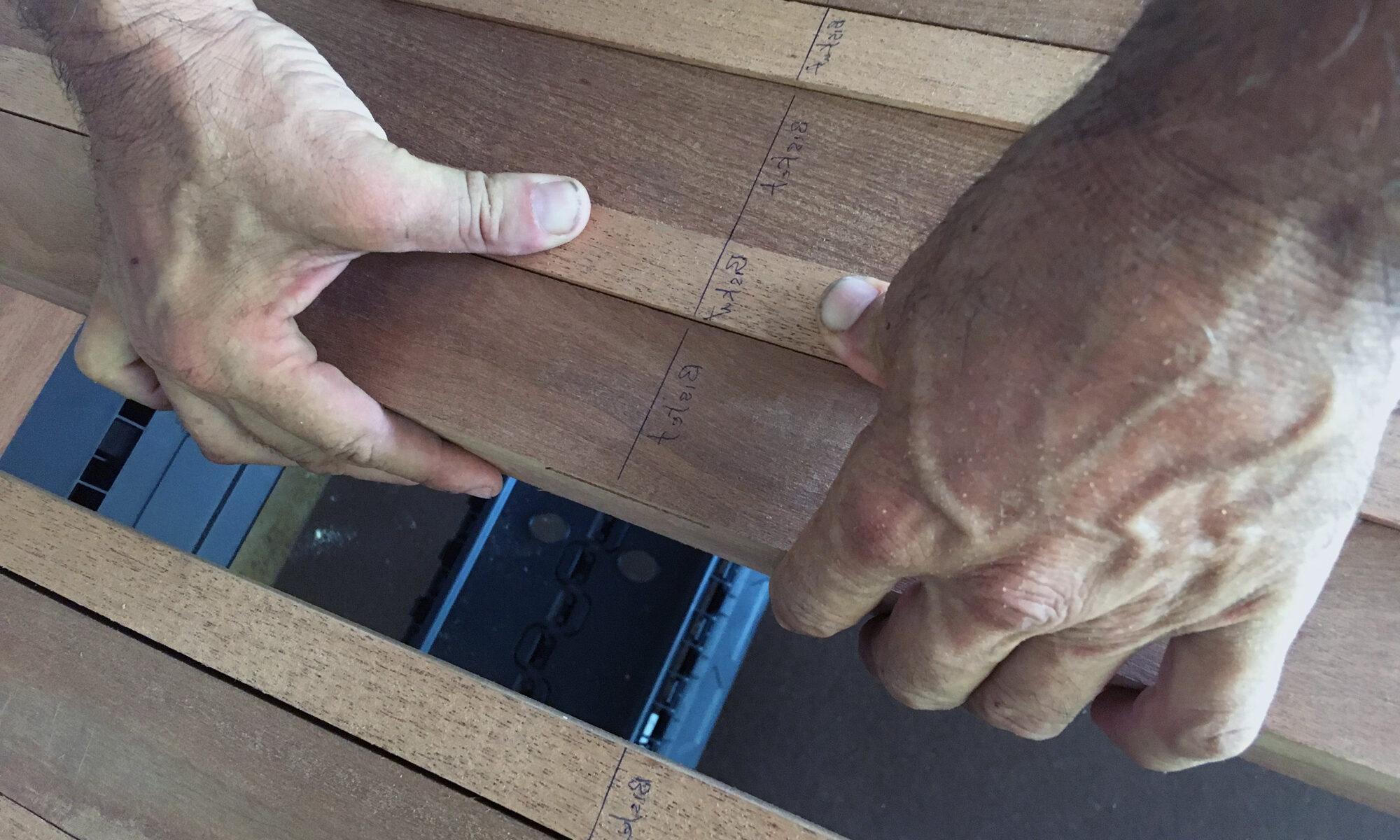 wood boat building - image